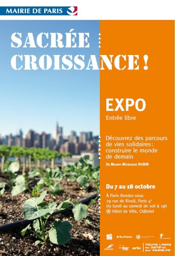 Vernissage de l'exposition et avant première du film Sacrée croissance à Paris